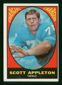 SCOTT APPLETON 1967 TOPPS 67 NO 118 VG  37195
