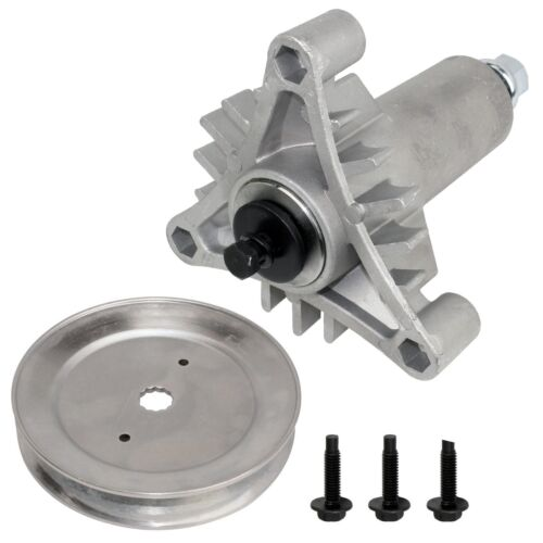 SPINDLE ASSEMBLY w//PULLEY FOR Poulan Tractor PP12538 PP12542 J JA PP125H38 K KA