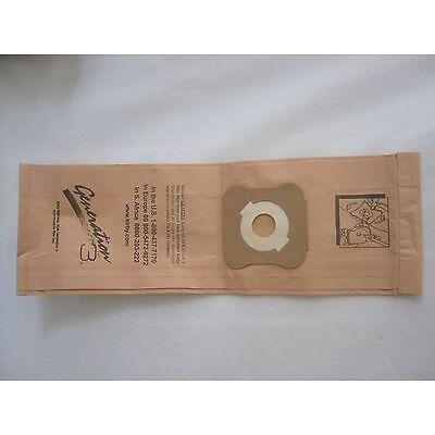 NEW KIRBY VACUUM CLEANER BROWN PAPER BAGS HERITAGE II LEGEND II 197389 197289