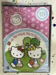Hello Kity Y Amici DVD Nuovo Sigillato Le Sorelle Meraviglioso Spagnolo