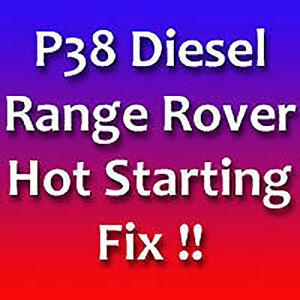 Hot-de-partida-fijar-Range-Rover-Bmw-Diesel-P38-Dt-DSE-Hot-Start-Fix
