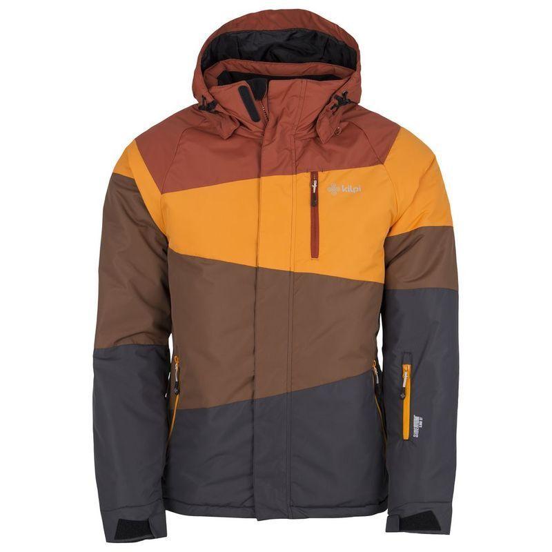 Chaqueta para hombre Kilpi siberium 5000ct-Talla L-Color Marrón Naranja