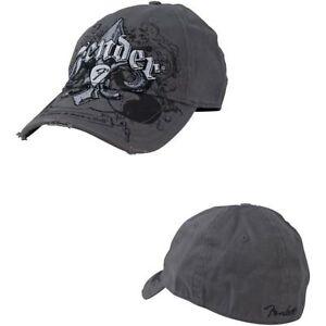 Genuine-Fender-Fleur-De-Funk-Stretch-Cap-Ballcap-Hat-Small-Medium-S-M-9106014346
