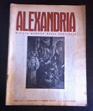 1933 ALESSANDRIA MONTECASTELLO STARACE