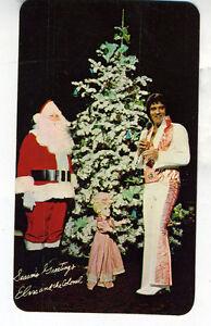 1978 RCA Records Elvis Presley Color Pocket Calendar (5