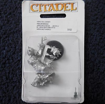 2004 Orc Bloodbowl 5th Edition Star Player Varag Ghoul Chewer Citadel Ork MIB GW