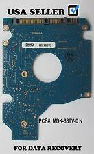 Toshiba PCB BOARD MK1252GSX, SATA 2.5 120GB  pcb: MDK-339V-0-N for Data recovery