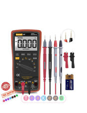 Auto Ranging Fluke Digital Multimeter Trms 6000 Ac Dc Voltage Alert Amp Ohm Diod