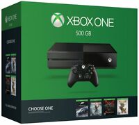 Microsoft Xbox One 500gb Name Your Game Bundle Black Console Choose A Game