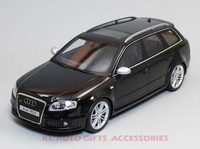 Otto Mobile Audi Rs4 B7 Avant 2006 Limited Edition Black Model Car 1