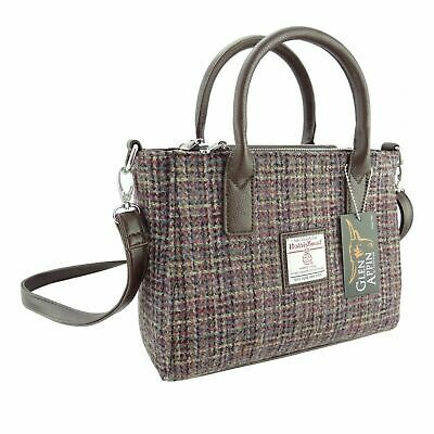 Ladies Authentic Harris Tweed Small Tote Bag With Shoulder Strap LB1228 COL 15