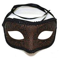 Romeo Petite Animal Cheetah Print Eye Mask Mardi Gras