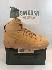 Nike Air Force 1 High Lv8 (gs) Wheat Flax 807617 200 US