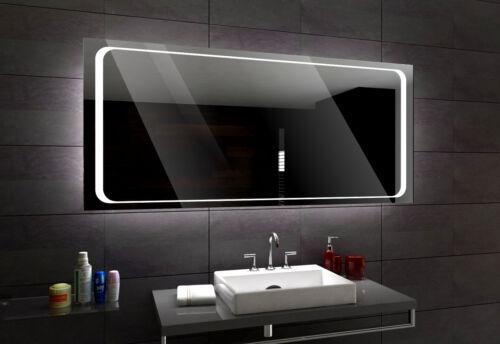 Specchio del bagno LED Barcelona Controluce personalizzato misura  VARIANTI