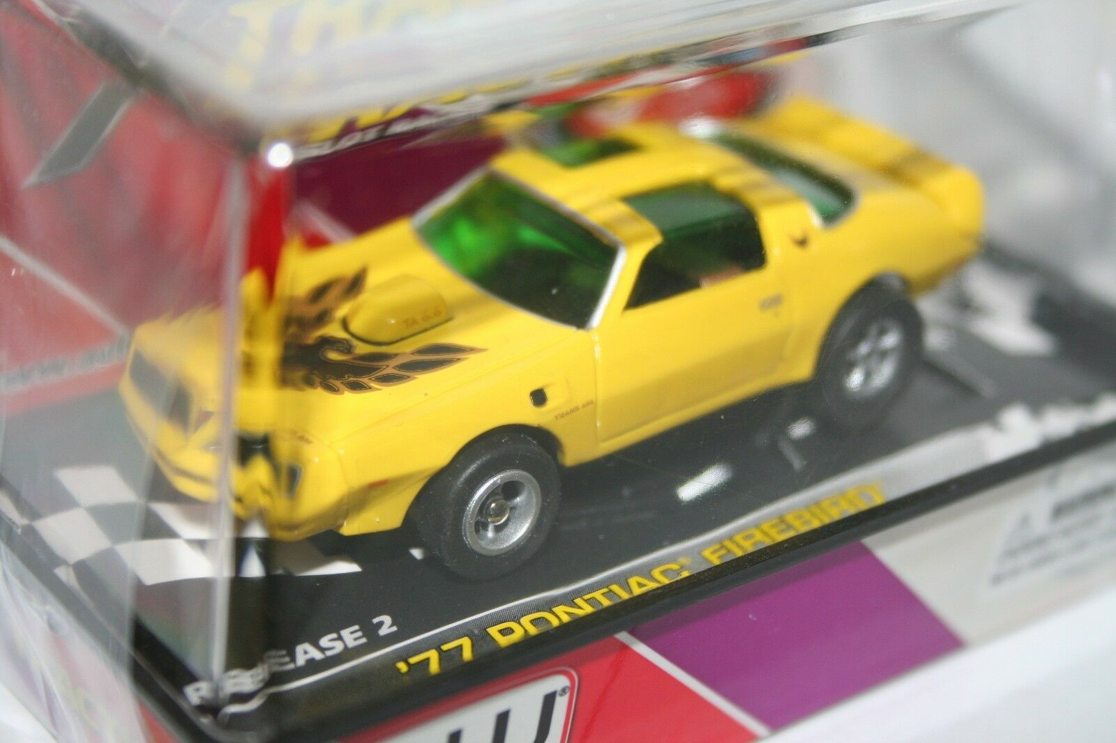 Rare 2007 Auto World 77 Pontiac Firebird HO Scale Slot Car Release Car