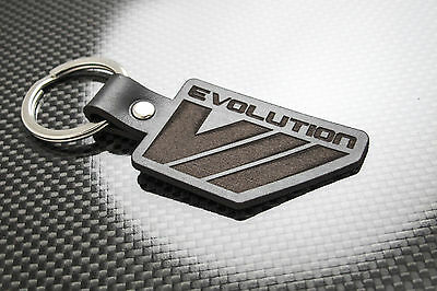 Branded Automotive Merchandise Mitsubishi Evo 7 Leather Keyring Schlüsselring Porte-clés Evolution Vii Lancer A Complete Range Of Specifications