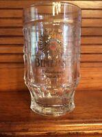 BINDING CLEAR GLASS BEER MUG Cup Vintage Bierbrauer 0.5L
