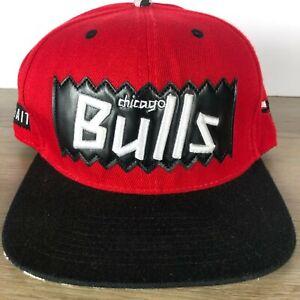 Chicago Bulls NBA Mitchell & Ness Hardwood Classic Snapback Hat - 1