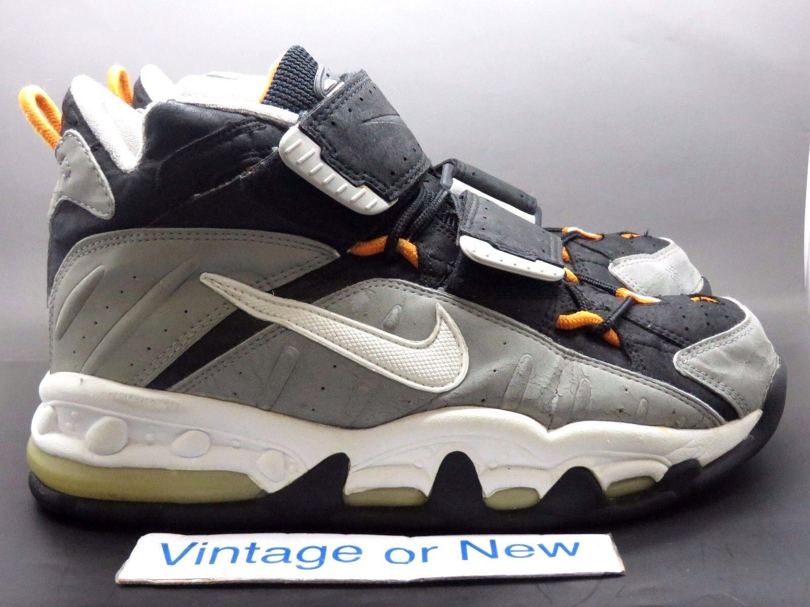 Nike air max uomini tutta muscoli bianco nero grigio perla 1996 sz