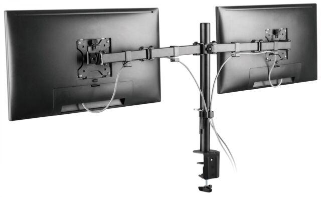 """Monitor Tischhalter Standfuß Einarm neigbar für LG 27/"""" 27MP68VQ-P"""