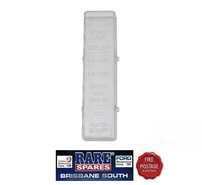 [QNCB_7524]  FORD FALCON XA XB & GS GT ZF-ZG FAIRLANE UNDER DASH FUSE BOX COVER | eBay | Ford Xb Fuse Box |  | eBay