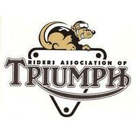 Sticker Triumph Moto