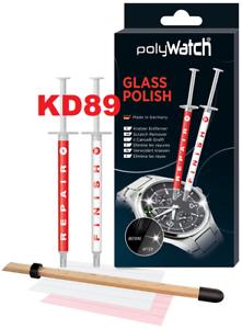 Polywatch rénove vos verres minéraux de montre - GLASS POLISH