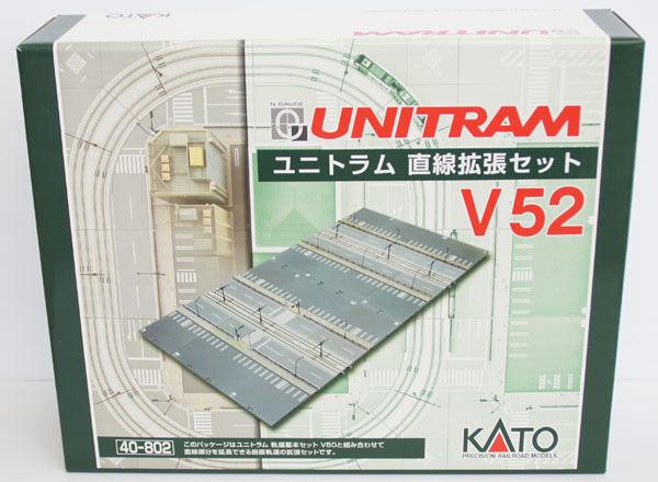 Kato 40802 Unitram Expansión Recto Set de Pista V52 Escala N