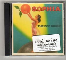 (FZ516) S.O.P.H.I.A., The Pop Group - 2015 DJ CD