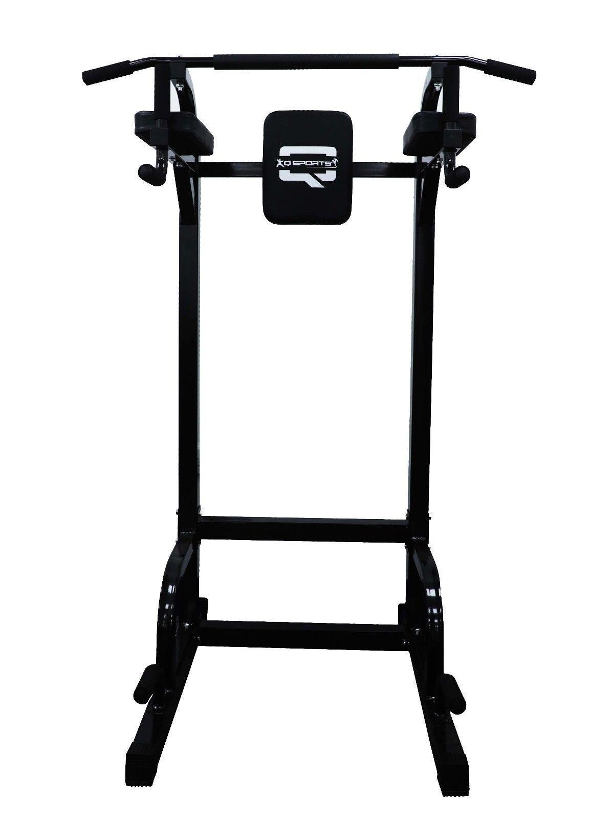 Q Sports Gym Power Tower Tire barbilla Dip Station pierna plantea Multi Funcional