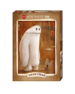 (HY29675) - Heye Puzzles - 500 Pc - Sit! Zozoville