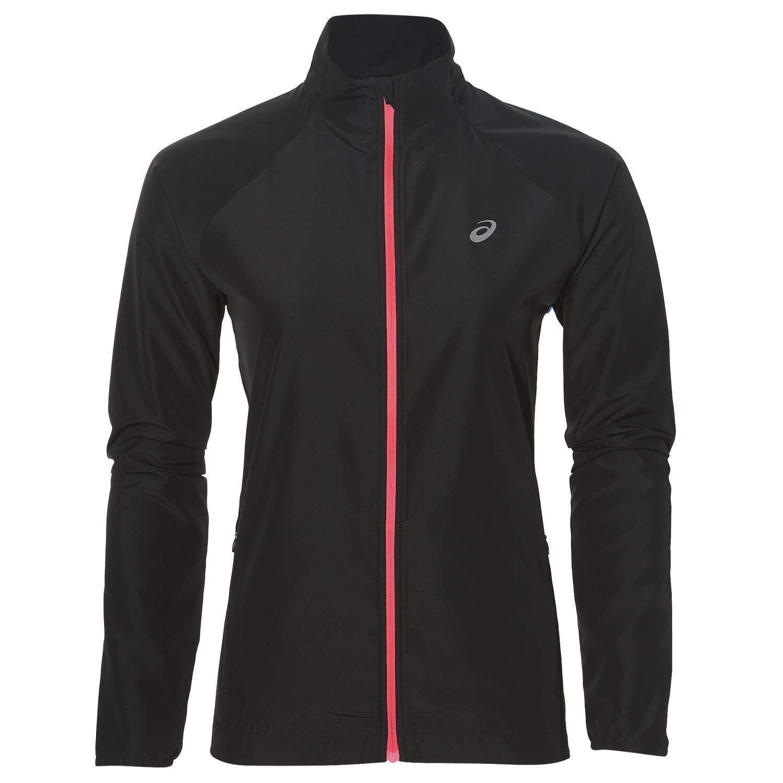 ASICS chaqueta mujer en funcionamiento ejecutando chaqueta  negro deportivo chaqueta tamaño XL 18.0808 C5  primera vez respuesta