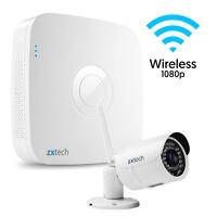 1 X Wireless Zxtech Night Vision 2mp Sony Chip Camera + 8 Ch Recorder Cctv Set I