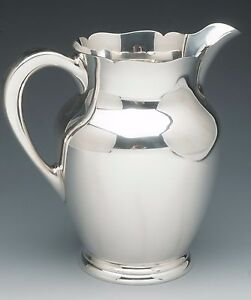 S-Kirk-amp-Son-Sterling-Silver-Water-Pitcher