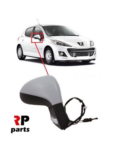 Pour Peugeot 207 06-12 nouvelle aile miroir manuel primovaccinés Avec Clignotant Droit LHD