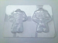 3D Muscle Man Torso Mould Mold 50 Fifty Shades of Grey Chocolate Ice Sugarcraft