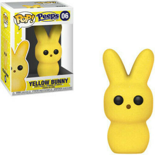 Peeps - Bunny Yellow - Funko Pop! Candy: (2019, Toy NEUF)