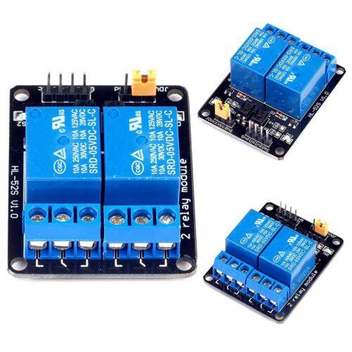 2 Way Relay Module 5V Protection Power Supply PLC Controller Board Arduino DSP