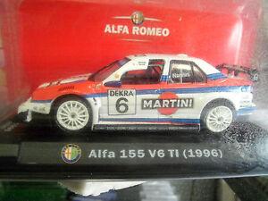 Alfa-Romeo-155-V6-T-I-1996-Nannini-1-43-RCS-Alfa-Romeo-Sport-Collection