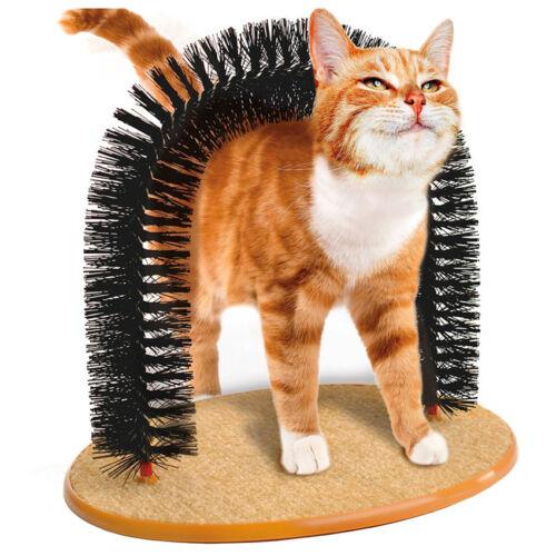 Kitty Cat Perch Scratcher Pet Furniture Post Tree Toy Scratching Catnip Kitten