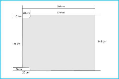 Natur Matratze Schlafauflage Multiflexboard VW T5//T6 Multivan190x145 vita-line