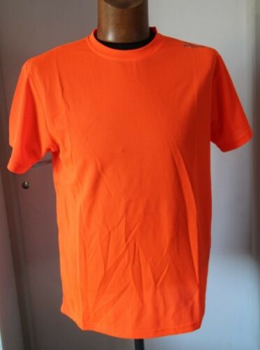 M  neuf Original Lot de 2 Tee shirts MC homme Running ROGELLI Orange T