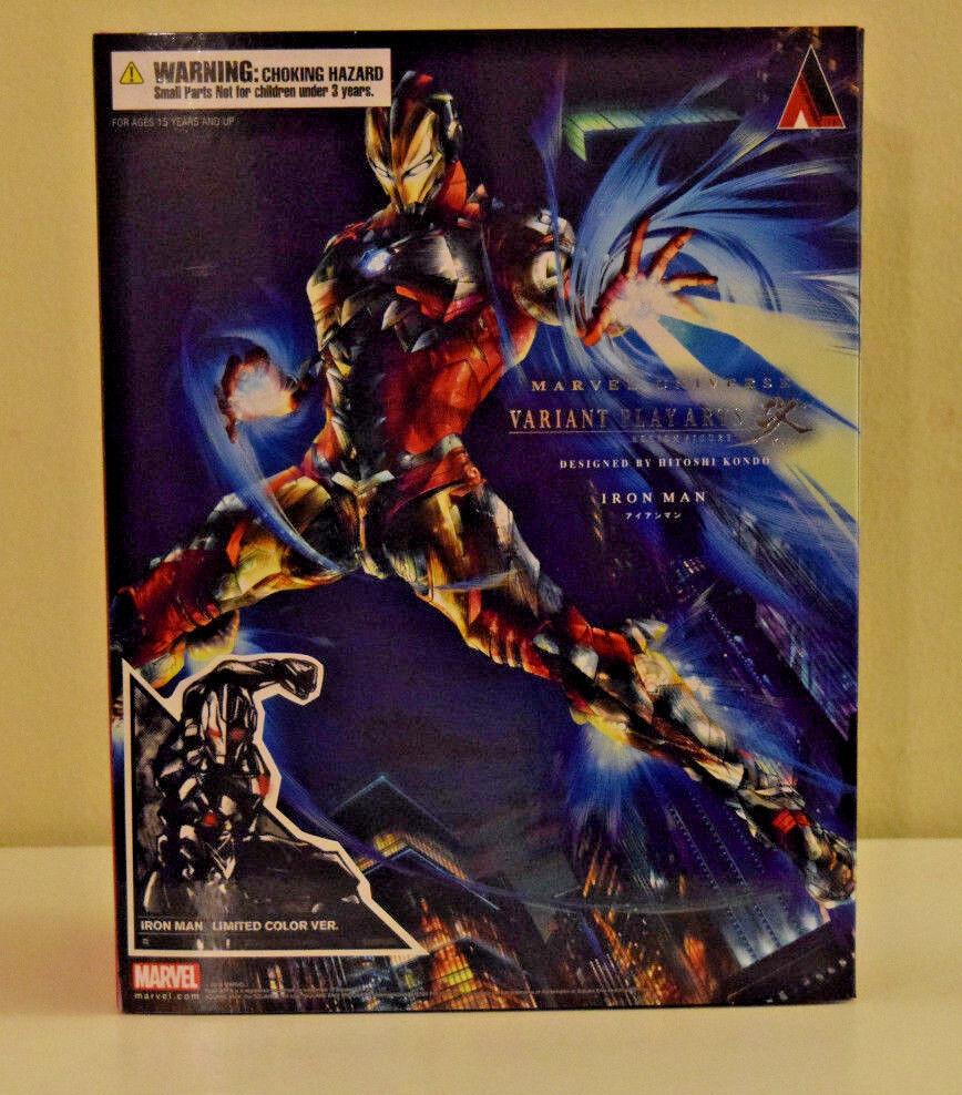 Iron man marvel - universum spielen kunst kai nur farbe variante square enix - neue