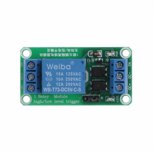 5//12//24V 1 Channel Relay Module with optocouple high and low level trigger 1PC