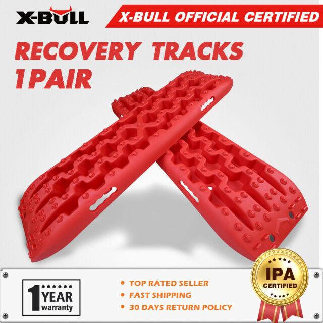 X-BULL NEW Sand Track 2pc Recovery Tracks 10T 4x4 Vehicle Sand//Snow//Mud Trax