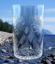 Russian Crystal Glass For Tea Glass Holder. 8.5 oz (250ml) Coffee Tea, Drinks