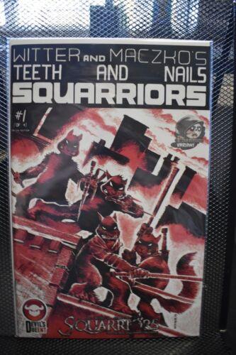 Squarriors #1 Phantom TMNT #1 Homage Variant Devi/'s Due Comics DDP Witter Maczko