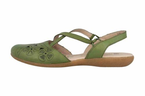 Remonte Sandalen in Übergrößen Grün R3802-54 große Damenschuhe