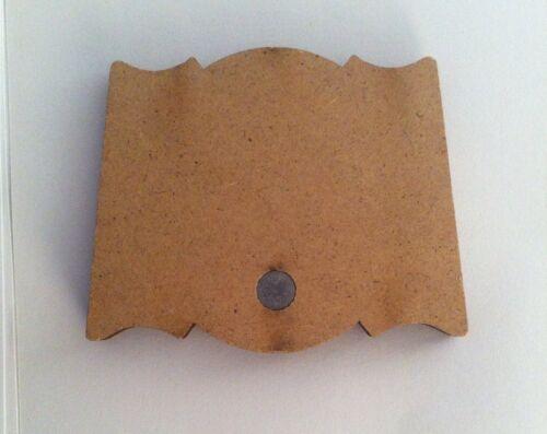 Fancy Islamic Wooden Magnetic Ornament Allah and Muhammad Islamic 2 Pcs Set Gift