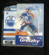 Wayne Gretzky MCFARLANE NHL LEGENDS SERIES 1 Edmonton OILERS JERSEY HOF